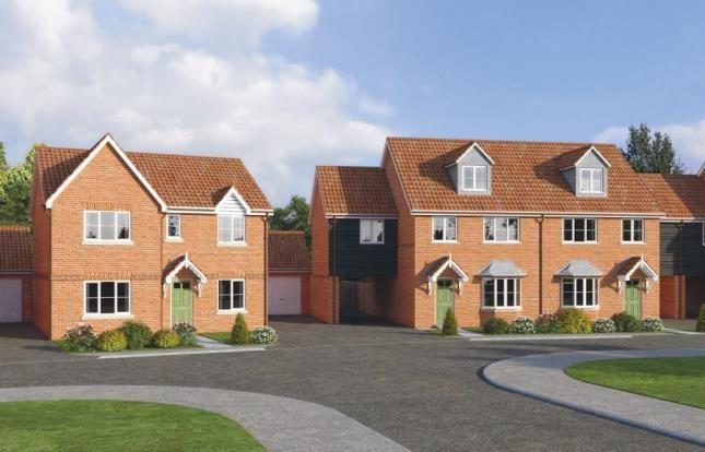 Thumbnail Semi-detached house for sale in Suton Lane, Wymondham, Norfolk