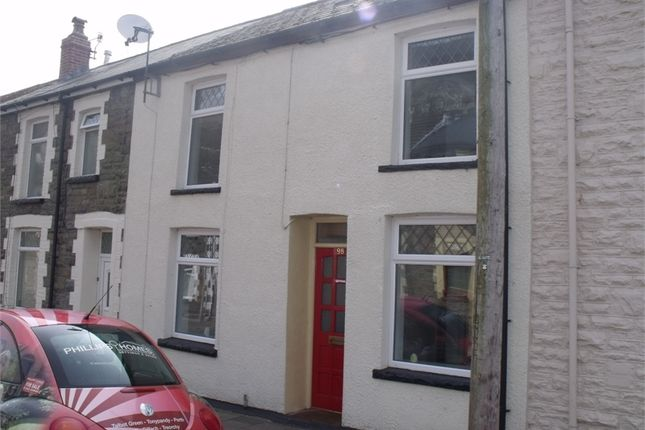 Thumbnail Terraced house to rent in Taff Street, Ferndale, Rhondda Cynon Taff.