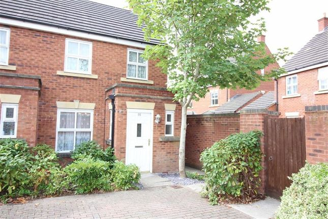 Thumbnail End terrace house to rent in Wright Way, Stoke Gifford, Bristol