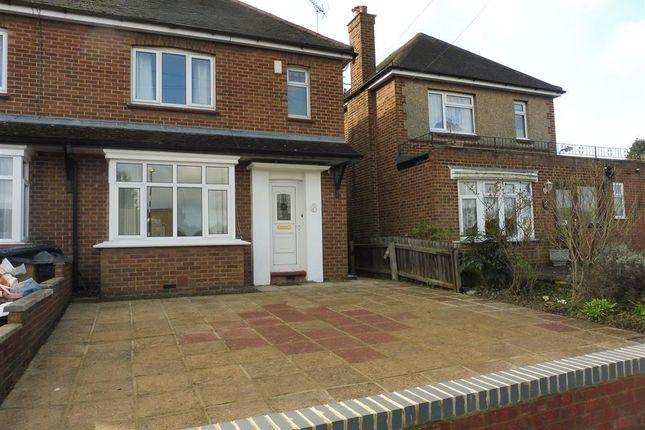 Thumbnail Semi-detached house to rent in Water Eaton Road, Bletchley, Milton Keynes