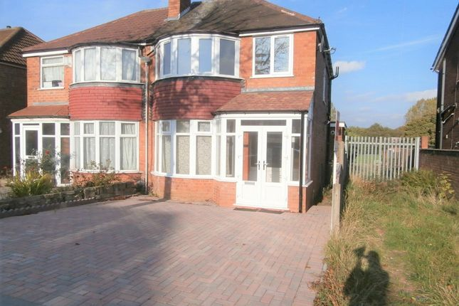 Thumbnail Semi-detached house to rent in Turnberry Road, Great Barr