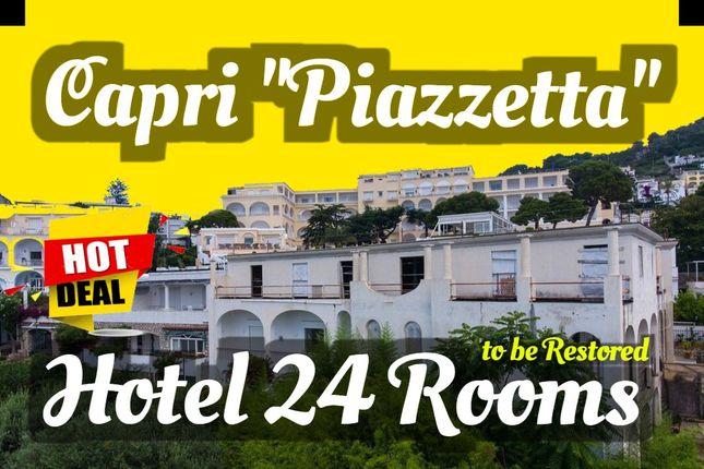 "Thumbnail Hotel/guest house for sale in ""La Piazzetta"", Capri, Naples, Campania, Italy"