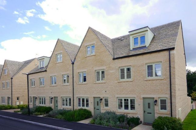 Thumbnail Terraced house to rent in Nightingale Way, South Cerney, Cirencester