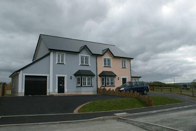 Thumbnail Semi-detached house for sale in Aberbanc, Llandysul