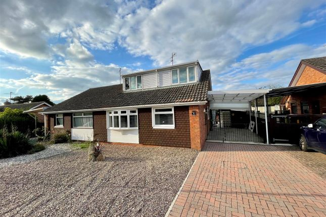 3 bed semi-detached bungalow for sale in Orchard Rise, Tibberton, Gloucester GL19