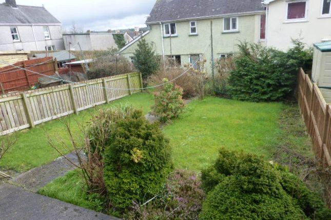 Garden of Brynhaul Street, Carmarthen SA31