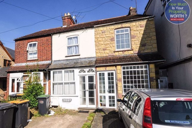 Thumbnail Terraced house to rent in Bedford Road, Wootton, Bedford