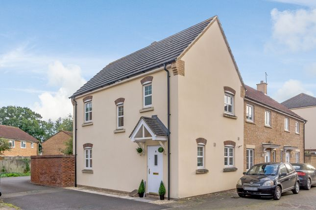 Thumbnail End terrace house for sale in Peregrine Court, Calne