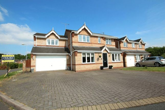 Thumbnail Detached house for sale in Hawthorn Grove, Biddulph, Stoke-On-Trent