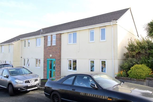 Thumbnail Flat for sale in Beaufort Close, Plymouth