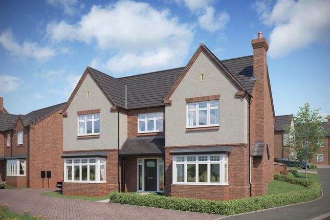 Thumbnail Detached house for sale in Milton Road, Repton, Derby