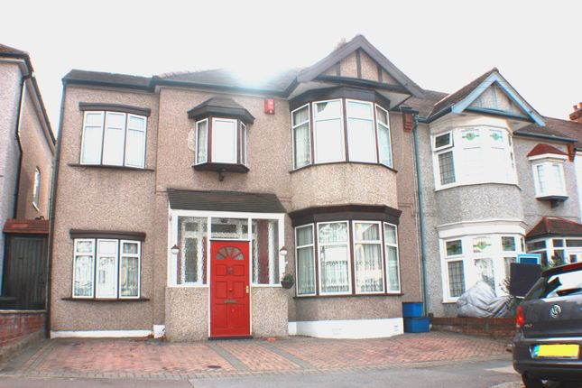 Thumbnail End terrace house for sale in Campbell Avenue, Barkingside