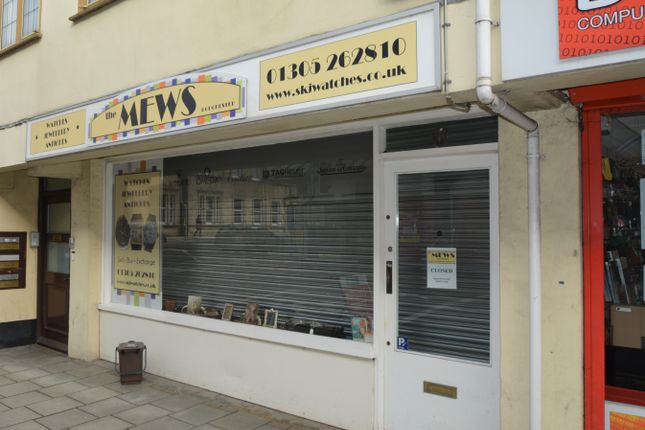 Thumbnail Retail premises to let in Georgian House, Dorchester