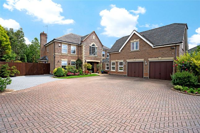 Thumbnail Detached house for sale in Chestnut Drive, Stretton Hall, Leicester, Leicestershire