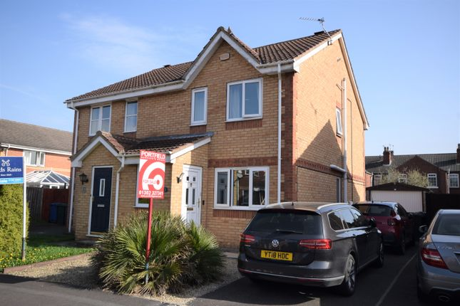 Thumbnail Semi-detached house for sale in Bishopgarth Close, Bentley, Doncaster