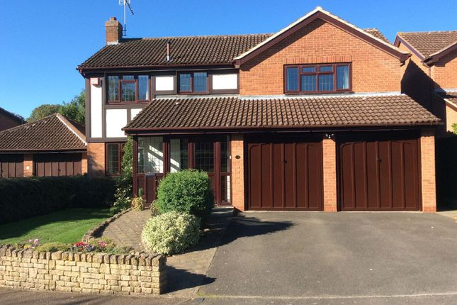 Thumbnail 4 bed detached house for sale in Welford Court, Knighton, Leicester