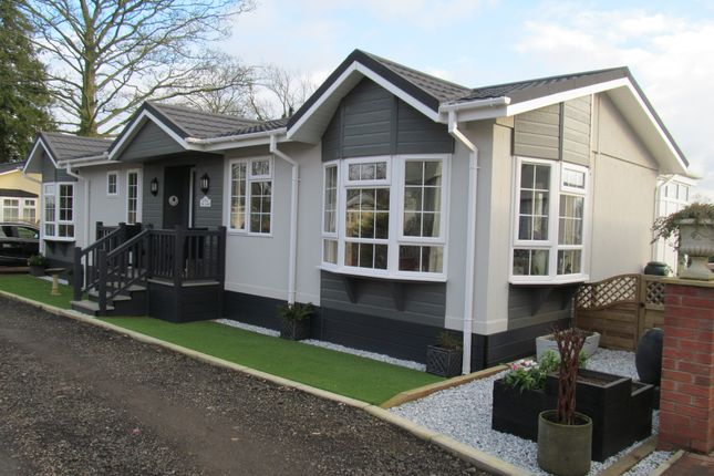 Thumbnail Mobile/park home for sale in The Glade, Ranksborough Hall (Ref 5196), Langham, Rutland