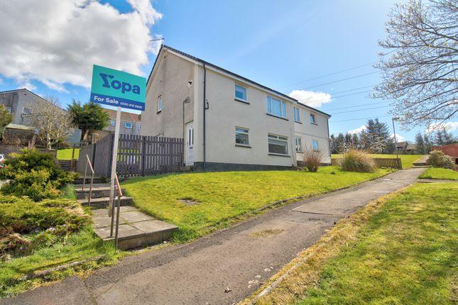 Thumbnail Flat for sale in Glen Shee Avenue, Neilston, Glasgow