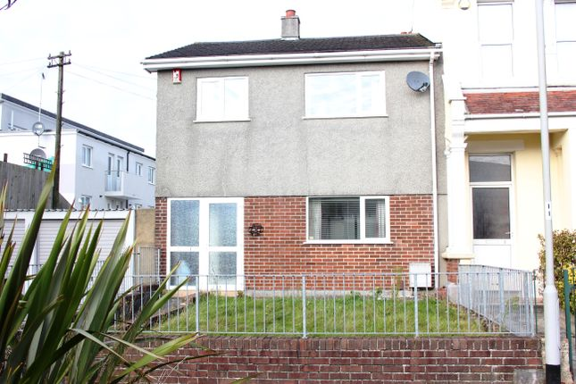 Thumbnail End terrace house for sale in Balfour Terrace, Stoke, Plymouth