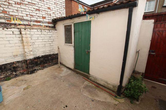 Rear Yard of Gladstone Street, Loftus, Saltburn-By-The-Sea TS13