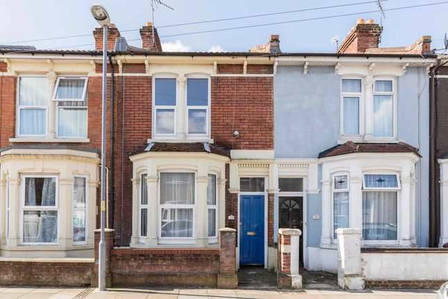 Thumbnail Terraced house to rent in Delamere Road, Southsea