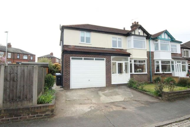 Thumbnail Semi-detached house for sale in Davenham Road, Sale