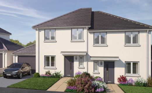 Thumbnail 4 bed detached house for sale in Kings Gate, Vicarage Hill, Kingsteignton, Newton Abbot