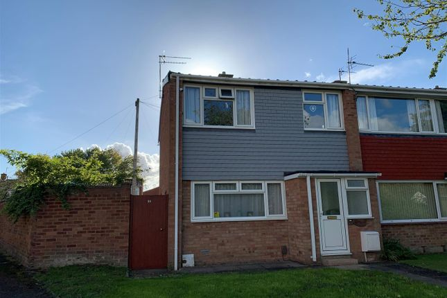 Thumbnail End terrace house for sale in Amber Close, Tuffley, Gloucester