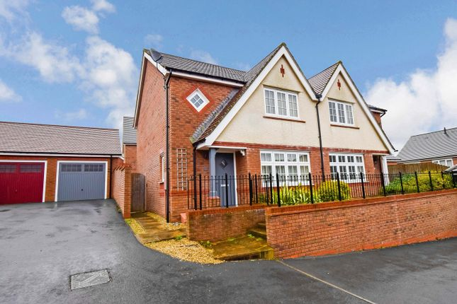 Thumbnail Semi-detached house for sale in Merlin Avenue, Penallta, Hengoed