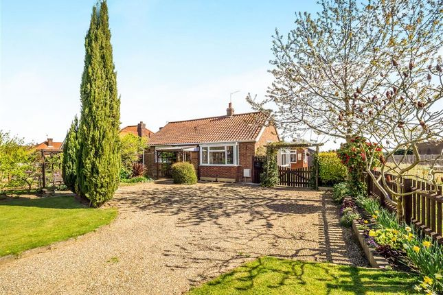 Thumbnail Detached bungalow for sale in Norwich Road, Aylsham, Norwich