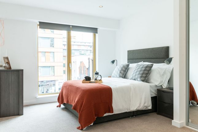 Thumbnail 1 bed flat to rent in Houldsworth Street, Manchester