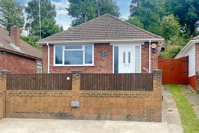 Thumbnail Detached bungalow for sale in Exleigh Close, Southampton