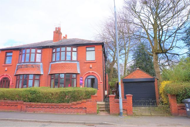 Thumbnail Semi-detached house for sale in Park Road, Hyde