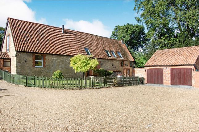 Thumbnail Barn conversion for sale in High Street, Sharnbrook, Bedford