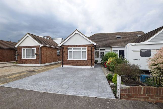 Thumbnail Semi-detached bungalow for sale in Hillview Gardens, Stanford-Le-Hope, Essex