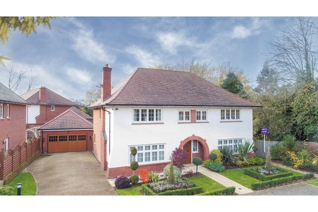 Thumbnail Detached house for sale in Waring Close, Glenfield