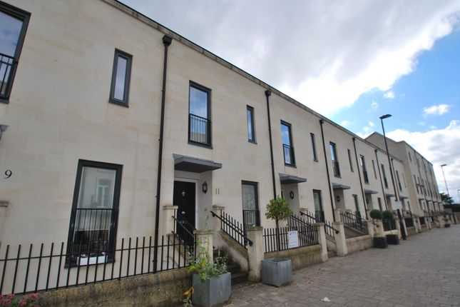 Thumbnail Town house to rent in Stothert Avenue, Bath