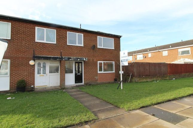 Thumbnail Terraced house to rent in Cottingwood Green, Blyth