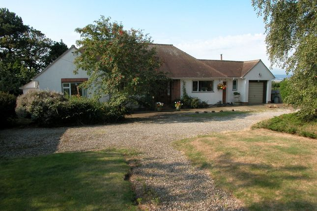 Thumbnail Detached bungalow for sale in Neston Road, Burton, Neston