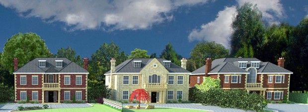 Thumbnail Detached house for sale in 3 Plots Fulmer Drive, Gerrards Cross