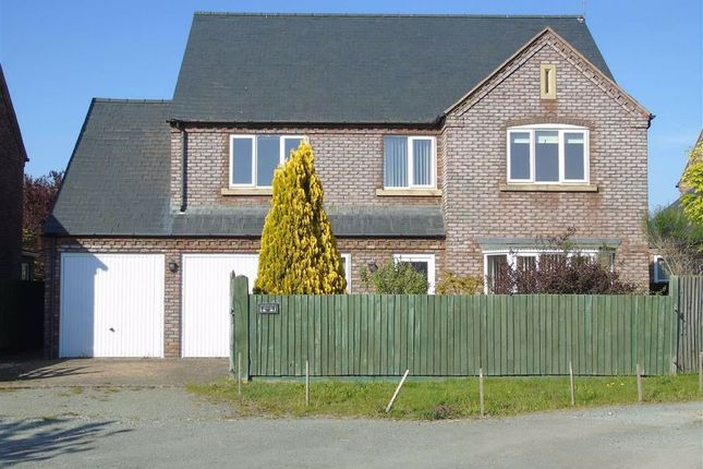 Thumbnail Detached house for sale in Darnley House, Celyn Lane, Guilsfield, Welshpool, Powys