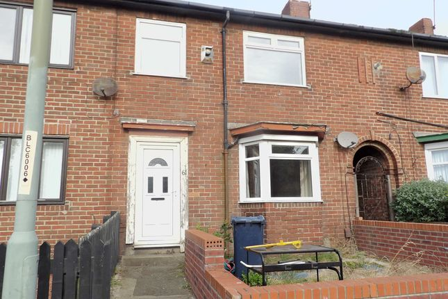 Thumbnail 2 bed terraced house for sale in Commercial Road, South Shields
