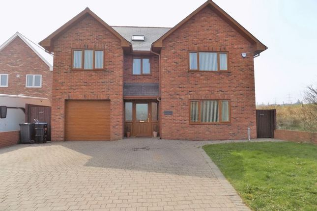 Thumbnail Detached house for sale in Maes Morgan, Nantybwch, Tredegar