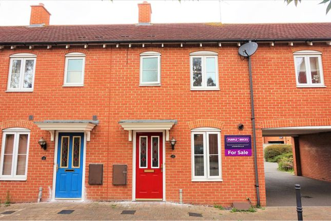 Thumbnail End terrace house for sale in Memnon Court, Colchester