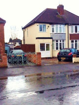 Thumbnail Semi-detached house to rent in Sandon Road, Wolverhampton