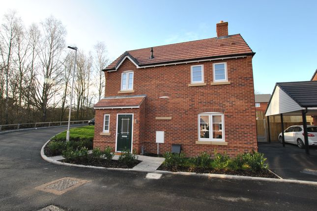 Thumbnail Detached house to rent in Orwell Crescent, Wellington, Telford