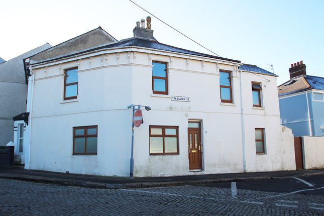 Thumbnail End terrace house for sale in Tresillian Street, Cattedown, Plymouth