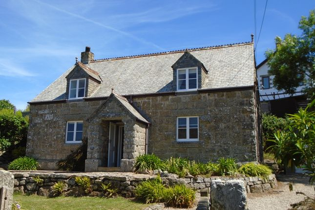 Thumbnail Detached house for sale in Porthcurno, St Levan