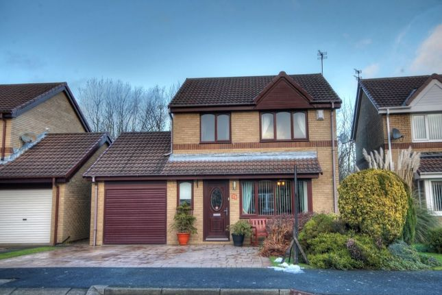 Thumbnail Detached house for sale in Oulton Close, Meadow Rise, Newcastle Upon Tyne