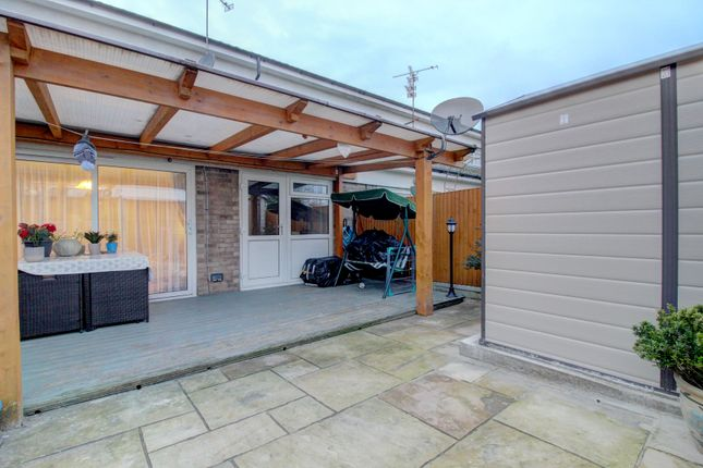 Patio With Under Cover Canopy